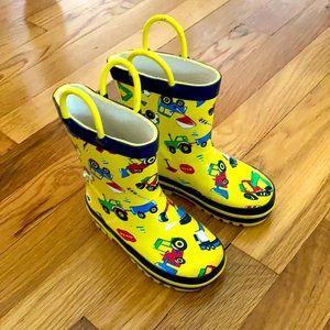 Toddler Truck Rain Boots
